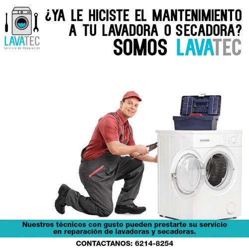 mantenimiento y limpieza de lavadoras y secadoras