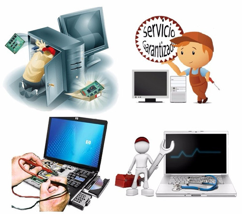mantenimiento y reparación, computadores a domicilio