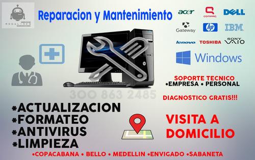 mantenimiento y reparación computadores - diagnostico gratis