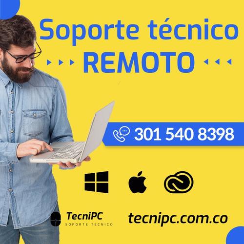 mantenimiento y reparación de computadores - remoto