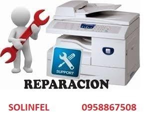 mantenimiento y reparación de impresoras xerox hp lexmark