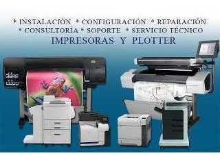 mantenimiento y reparación de impresoras y plotter epson