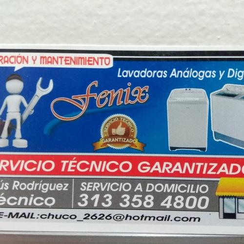 mantenimiento y reparacion de lavadoras dijitales y analogas