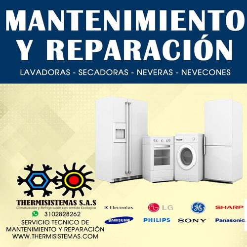 mantenimiento y reparación de lavadoras - neveras