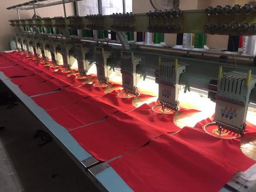 mantenimiento y reparación de máquinas de bordado