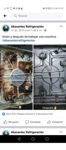mantenimiento y reparación de neveras, lavadoras aires etc