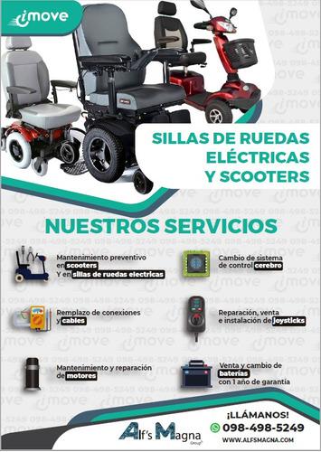 mantenimiento y reparación de sillas de ruedas eléctricas