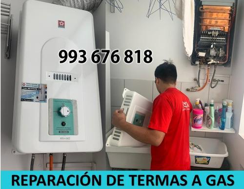 mantenimiento/reparación e instalación de termas a gas sole