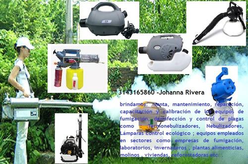 mantenimiento,reparación,venta equipos de fumigacion general