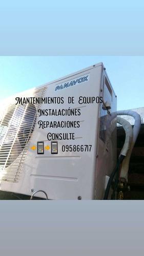 mantenimientos y instalaciónes de equipos de aires acondicio