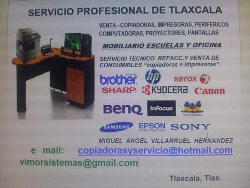 mantenimiento,venta equipo,consumibles impresoras y computad
