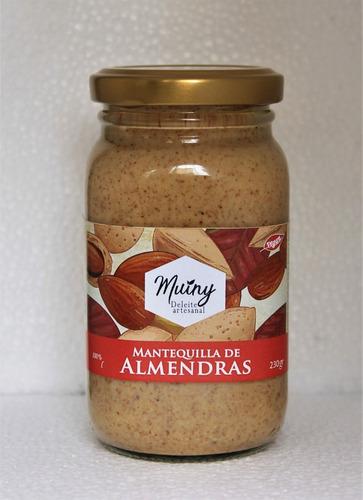 mantequilla de almendras artesana - unidad a $28900