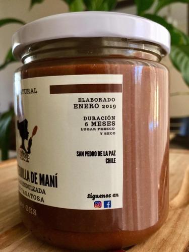 mantequilla de mani cacao con tagatosa 400 grs