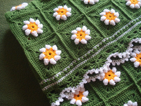 8729b9aac Colcha Crochet Cuadrada - Ropa y Accesorios en Mercado Libre Argentina