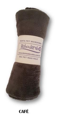 mantinha / cobertor para cachorro/gato em microfibra 75x98