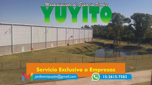 mantinimiento de espacios verdes yuyito
