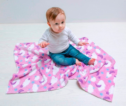 mantita bebe recibidora de piel, super suave y calentita!