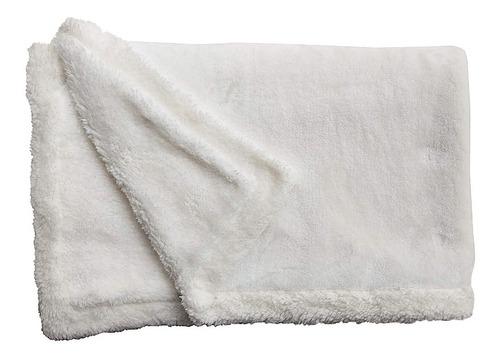 mantita reversible polar soft y corderito 105 x 70 cm.