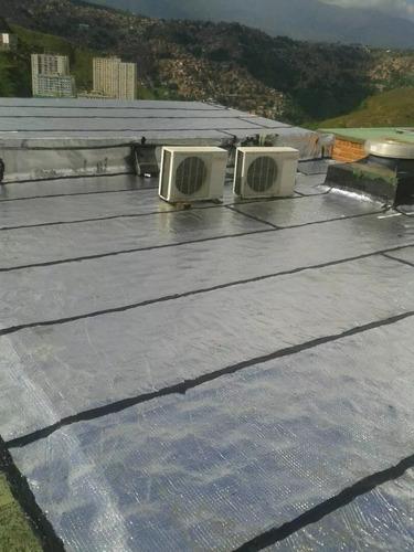 mantos asfalticos aluminizados y negros instalacion y venta