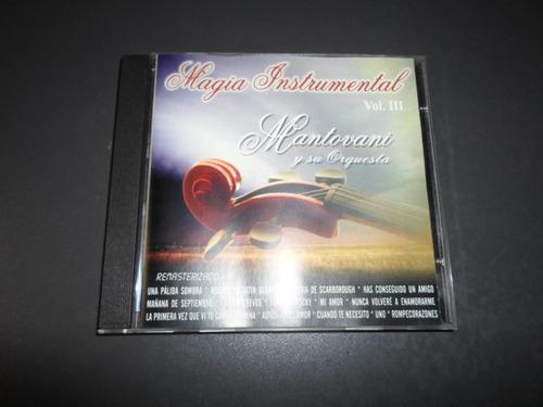 mantovani - magia instrumental vol iii * cd importado mexico