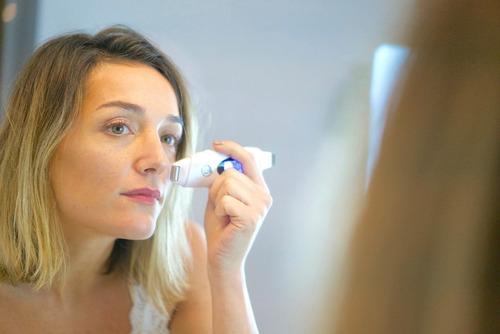 mantra luminity ems facial & ultrasonido ion peeling lifting