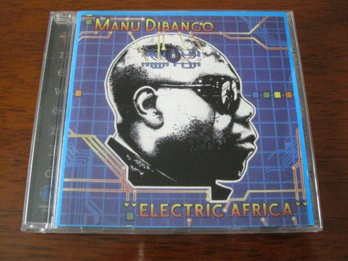 manu dibango : electric africa ~ cd pop pata piya