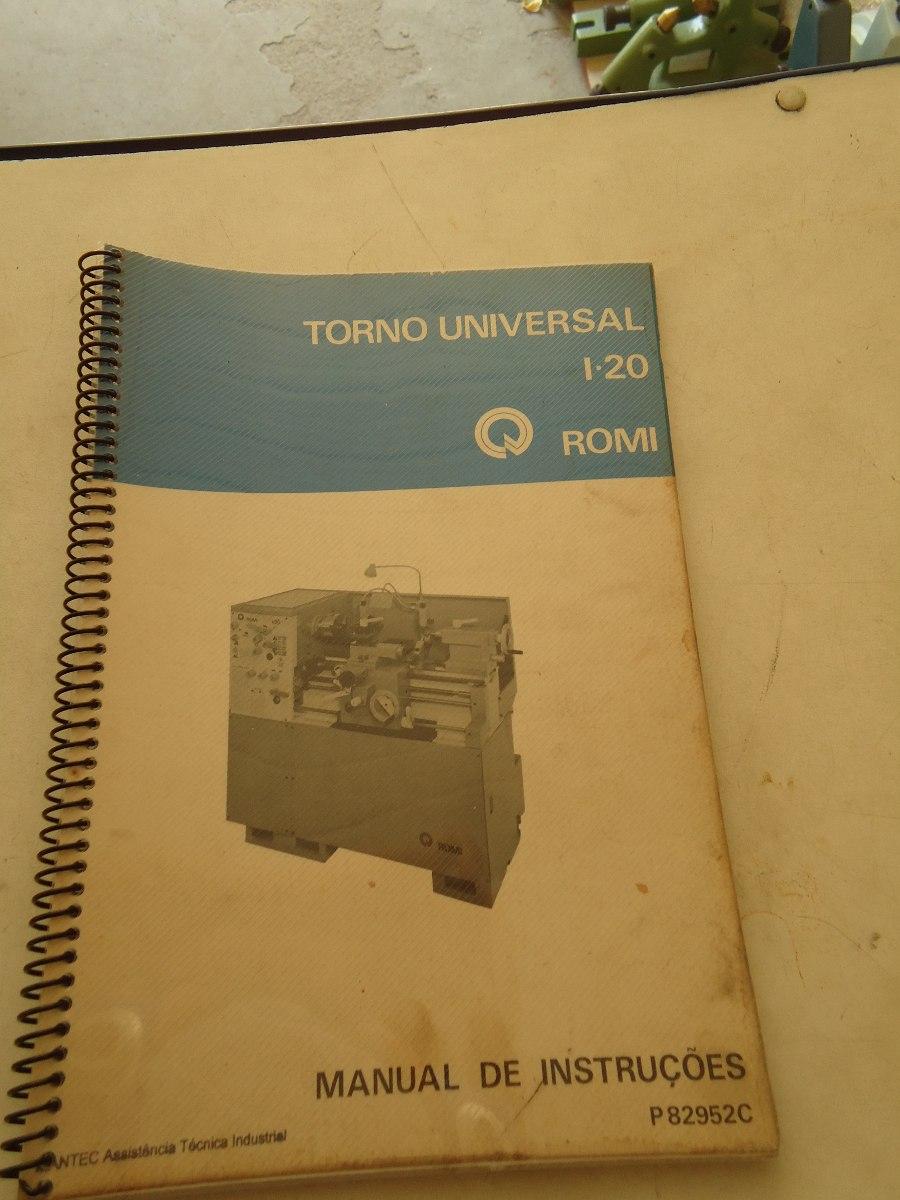 manual torno romi i 20