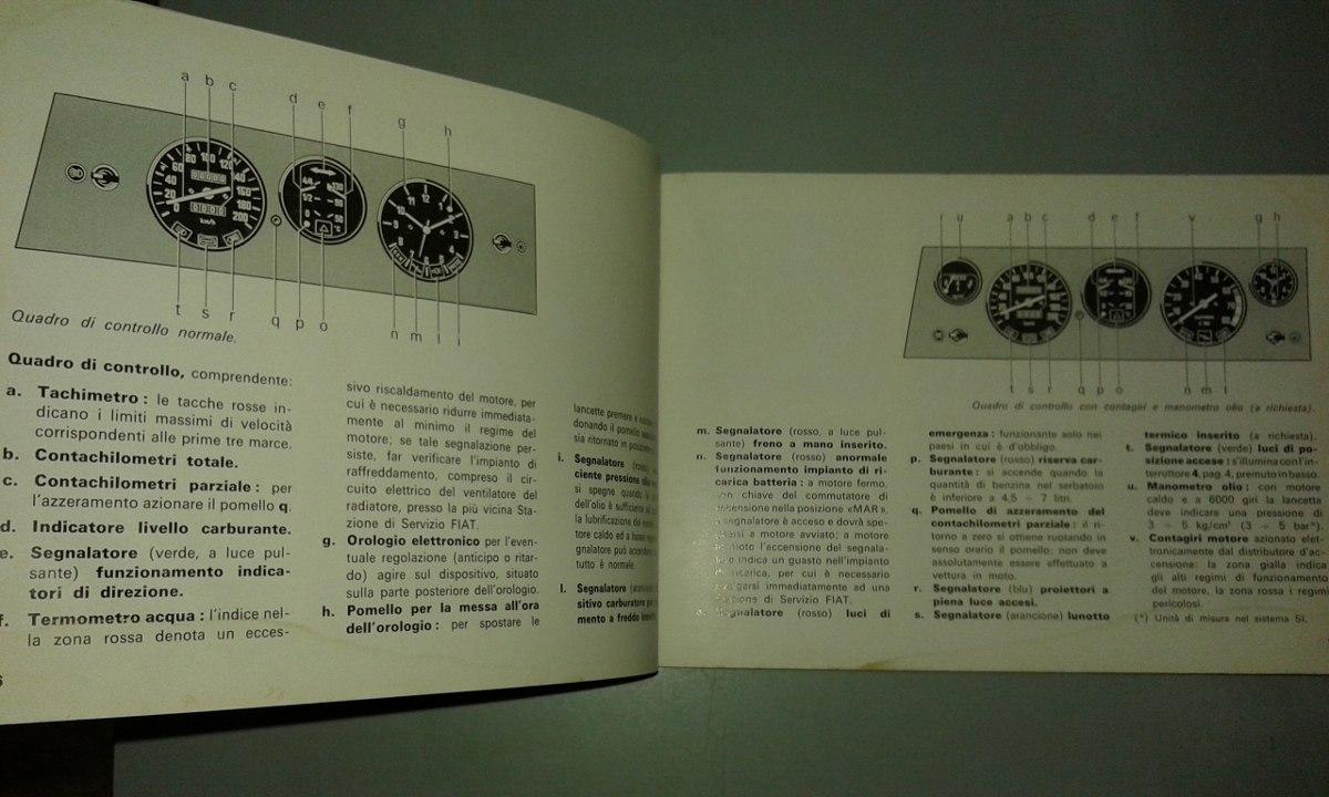 manual 100 original de usuario fiat 132 gls gl a o 1974 75 rh articulo mercadolibre com ar Fiat 128 Fiat 131