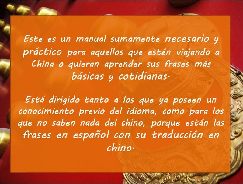Manual 500 Frases En Chino Para Viajeros 35000 En Mercado Libre