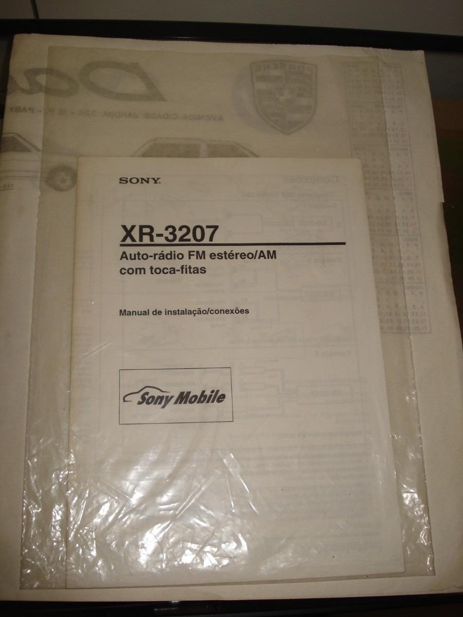 Manual Antigo Da Sony Car Audio Xr 3207 Frete Gratuito R 2610 Em Carregando Zoom