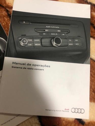 manual audi q3 2014