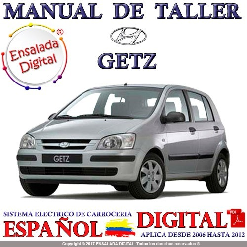 manual automotriz hyundai getz 06 12 taller reparaci n 15 100 en rh articulo mercadolibre com co manual taller hyundai getz 1.1 manual taller hyundai getz 1.1
