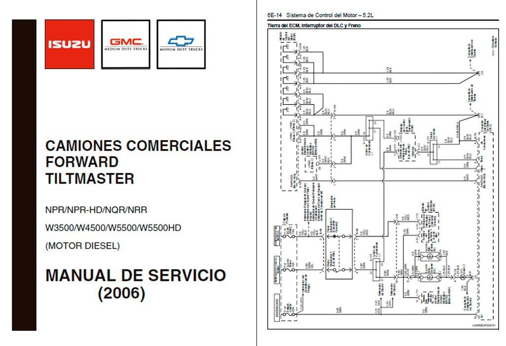 manual automotriz isuzu npr 06 17 taller diagramas espa ol 4 100 rh articulo mercadolibre cl
