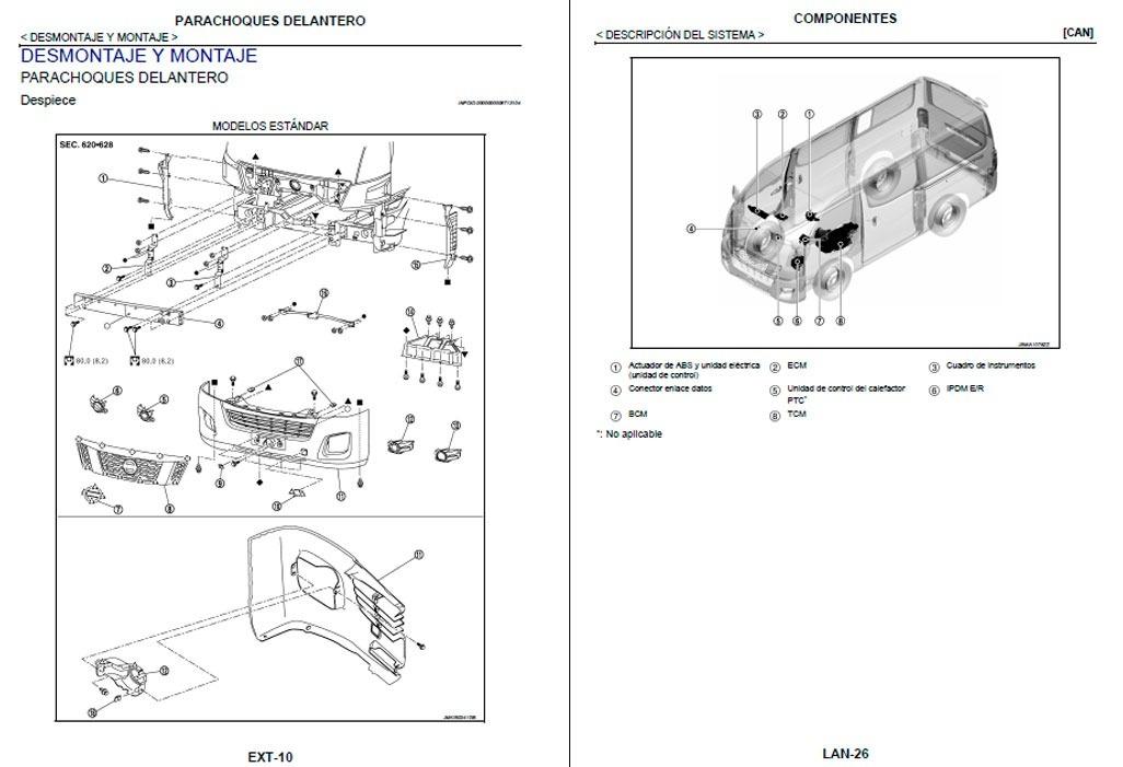 Manual Automotriz Nissan Urvan E26 13