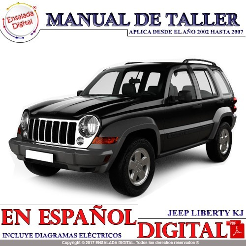 Manual Automotriz Taller Jeep Liberty Kj 02