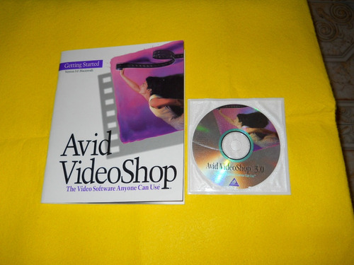 manual avid videoshop 3.0