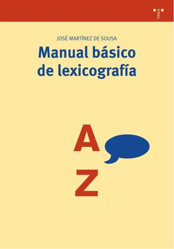 manual basico de lexicografia jose martinez  de  sousa