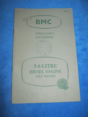 manual bmc del motor 3.4 diesel