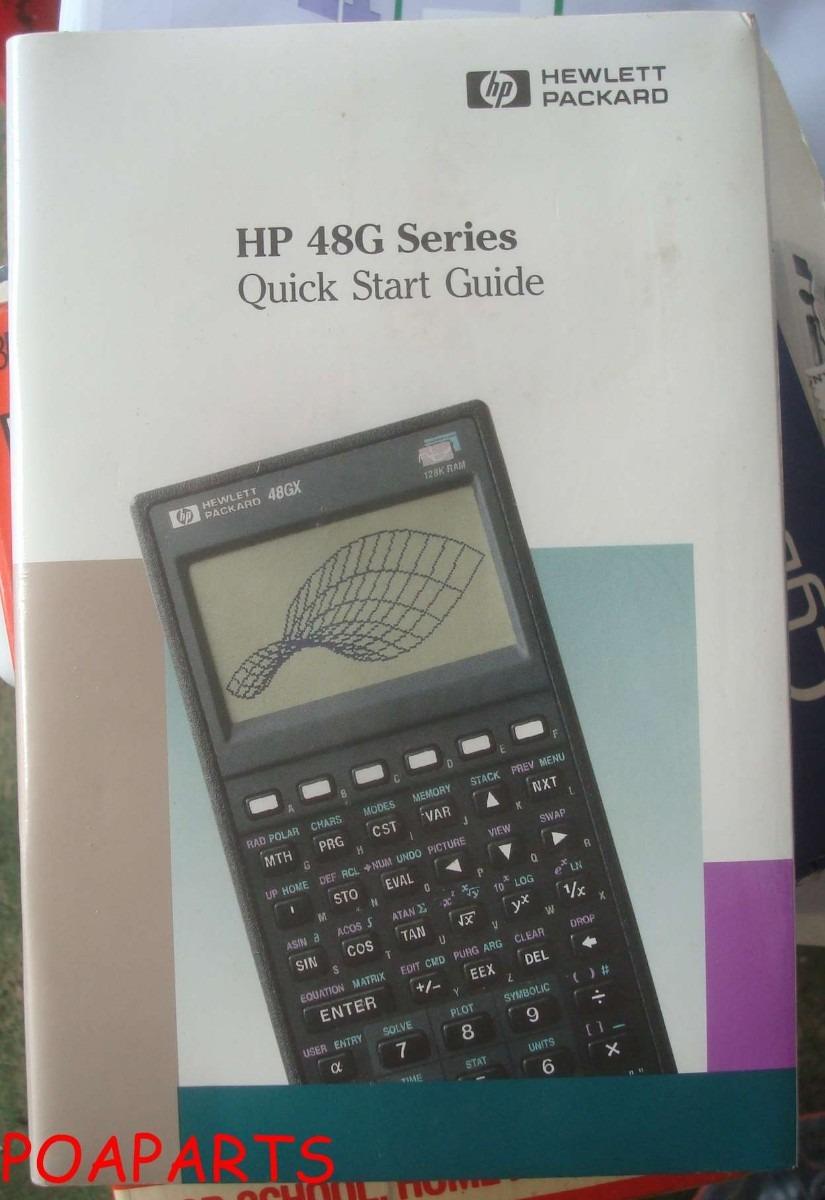 manual calculadora hp 48g r 25 00 em mercado livre rh produto mercadolivre com br manual calculadora hp 48g portugues manual hp 48gx portugues download