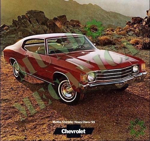 manual catalogo despiece chevrolet 1964-1975 chevelle malibu