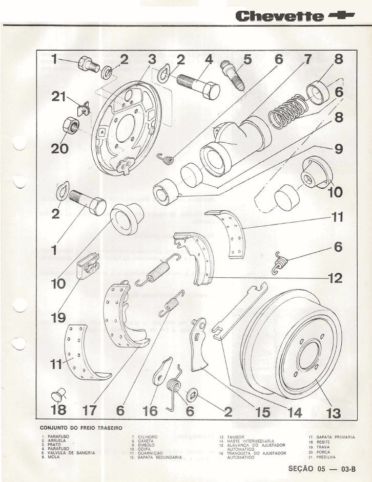 Manual Chevrolet Chevette Original De Concessionaria
