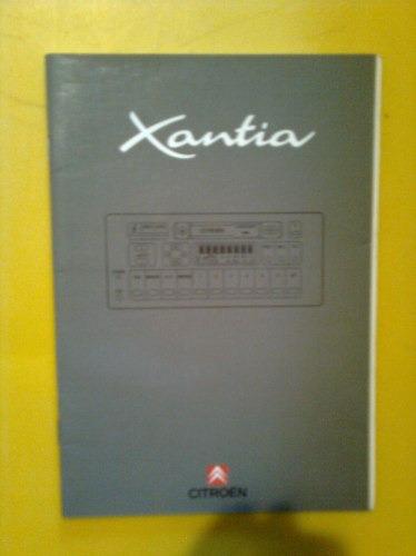 manual citroen xantia original