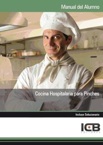 manual cocina hospitalaria para pinches(libro )