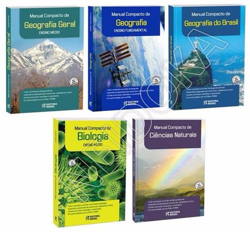 manual compacto geografia ou biologia - frete apenas 8,00