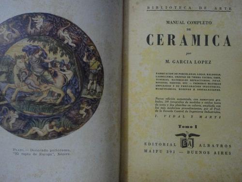manual completo de ceramica m garcia lopez pb142