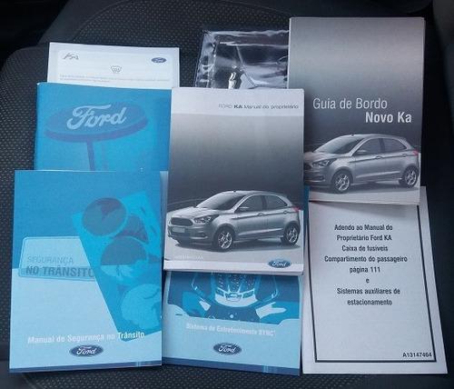 manual completo do ford ka 1.0, 1.5 - sedan, hatch