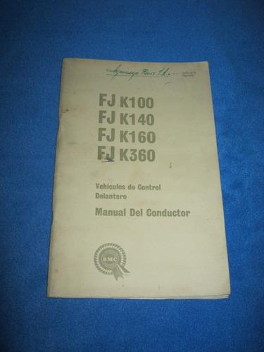 manual conductor austin morris bmc fj k 100,140,160 y 360