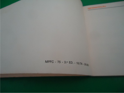 manual corcel outubro de 74  -  3539-pc4