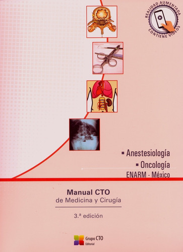 manual cto de medicina y cirugía enarm-méxico envio gratis!!