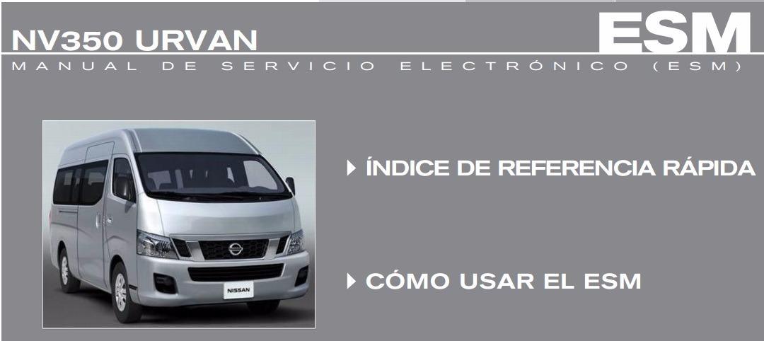 manual d agencia nissan urvan nv350 qr20de qr25de yd25ddti rh articulo mercadolibre com mx nissan qr25de manual QR25DE Pistons